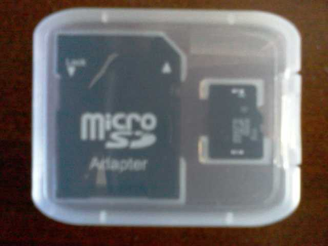New 8gb Memory Card With Adapter