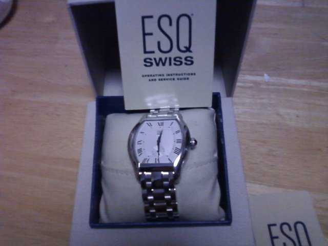Esq Swiss Mens Watch Brand New In Box