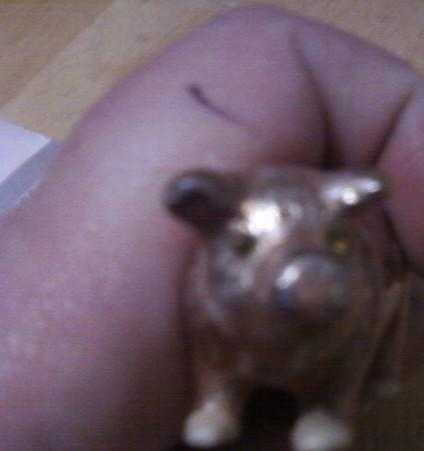 Small Pig Pill Holder (Appraised) Plz Read About This
