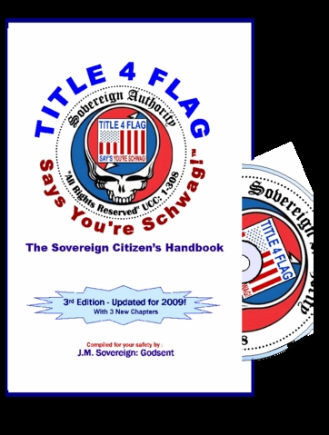 Title 4 Flag Says Your Schwag!