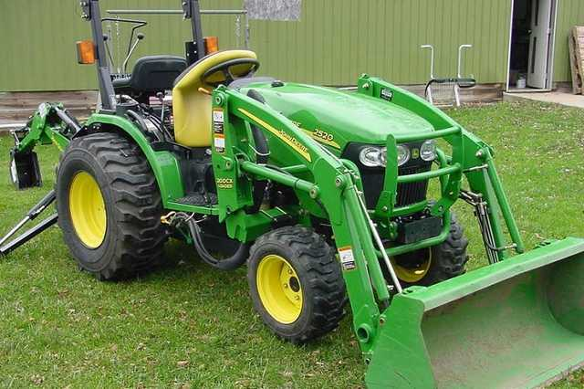 2007 John Deere 2520 W / Loader & Backhoe Free Shipping