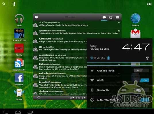 Ics Android Alpha 2.0 Installation On 9.7 Hp Touchpad