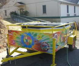 Spa / Hot Tub Rental Trailers