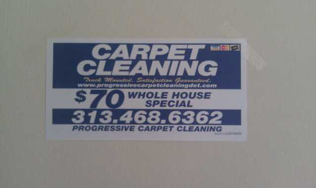 Progressive Carpet Cleaning