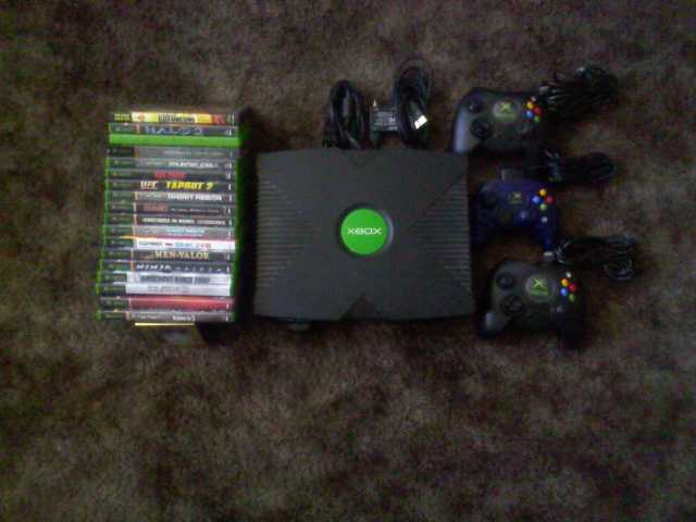X - Box And 19 Games
