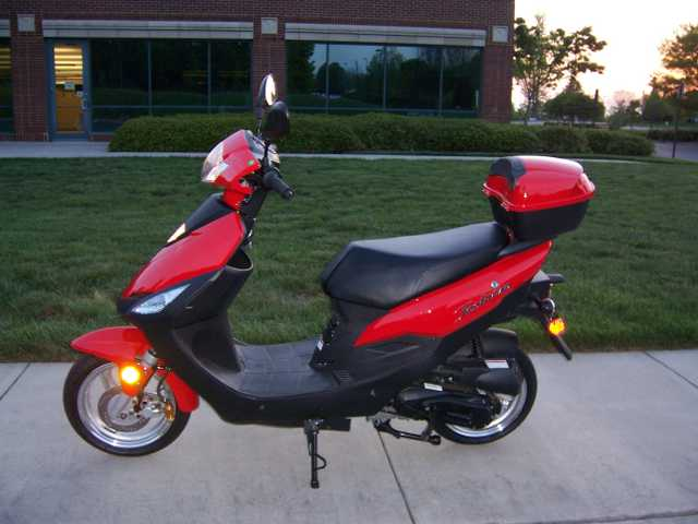 New 50cc Scooters