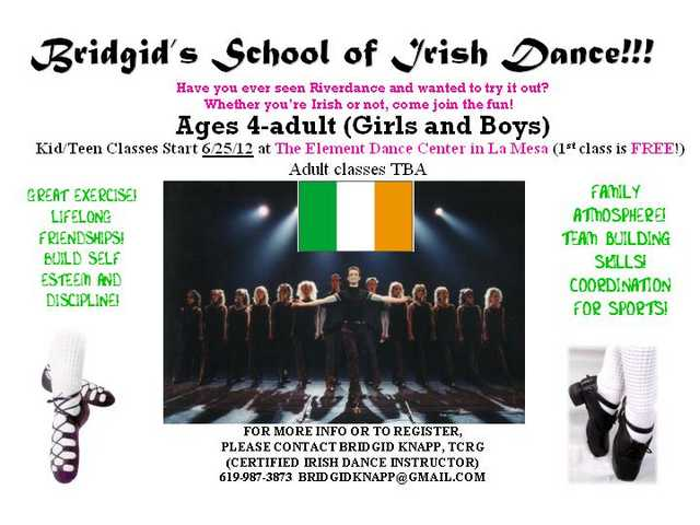 Kids & Teens Irish Dance Lessons