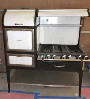 Restored 1920s Gas Estate Stove By York