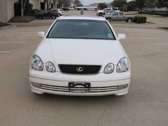 White 99 Lexus Gs 300 For Sale