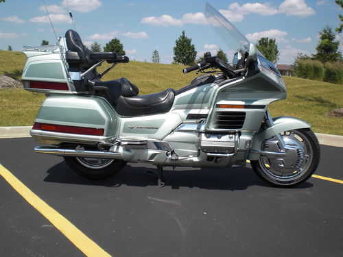 1999 Honda Goldwing Gold Wing 1500 Se 50th Anniversary Edition