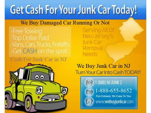 New Jersey's Top Junk Car Removal