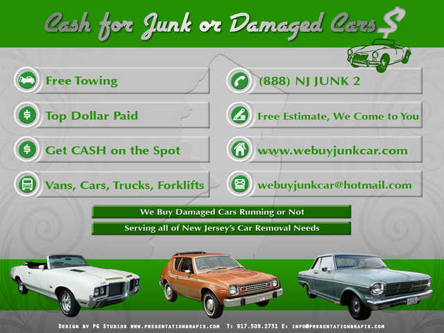 We Buy Junk Car In Nj - Same Day Service