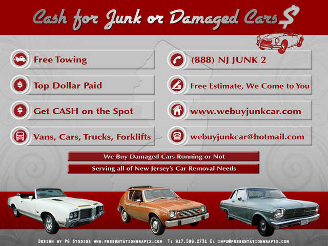 We Buy N. J's Junk Cars! Get Cash Today!