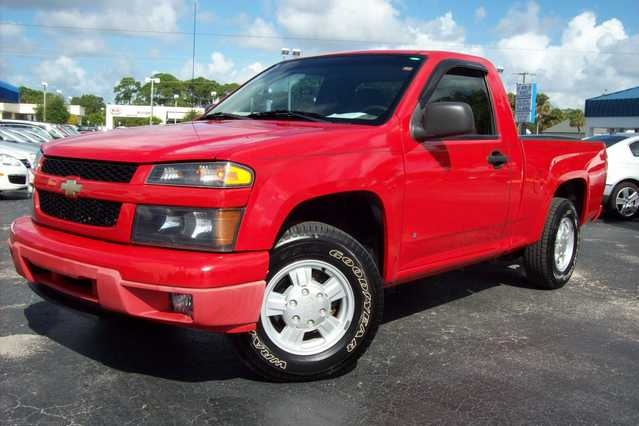 2006 Chevrolet Colorado - Red - Manual - 43k Mi.