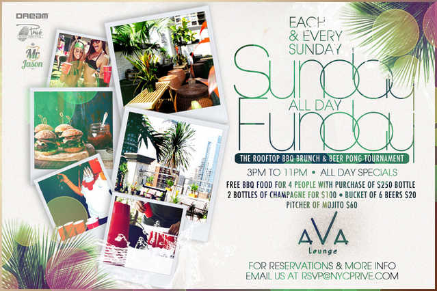 Free Rooftop Bbq Brunch At Ava Dream Hotel On Sunday