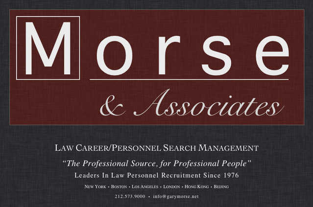 Law Career / Personnel Search Management