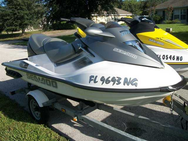 2006 Seadoo Gtx And 2006 Seadoo Gti Low Hours Freshwater Use