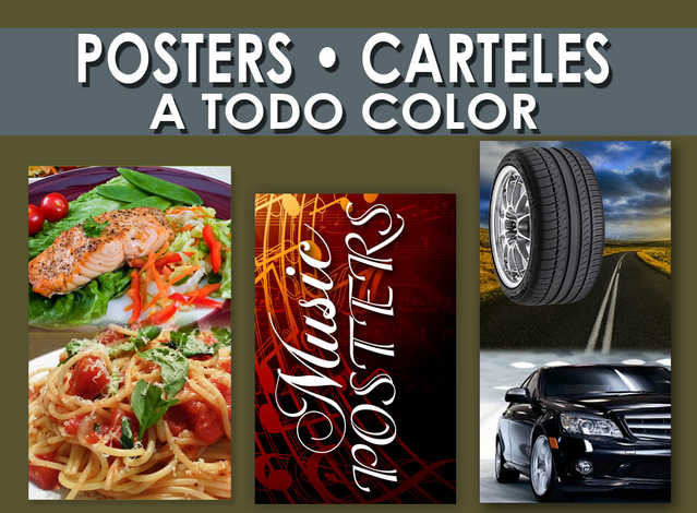 Imprenat De Posters En Los Angeles Pomona Commerce California