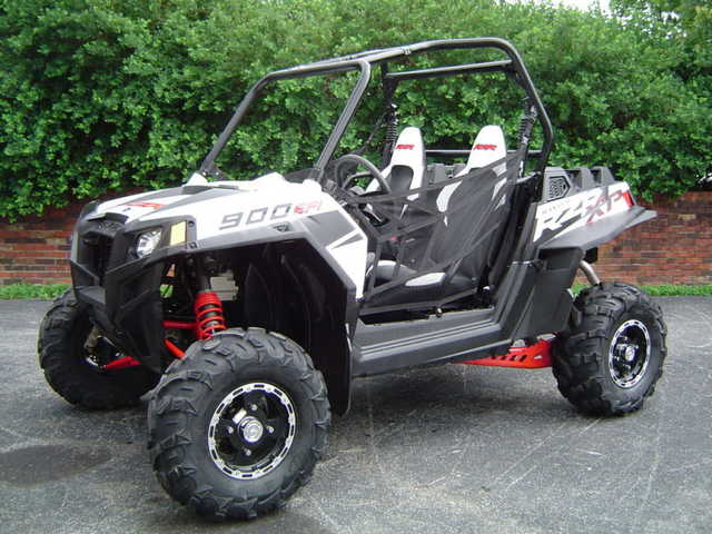 2011 Polaris Rzr Xp 900 Efi Le White 4x4