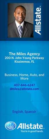 Auto Insurance Kissimmee Florida - The Miles Agency 407 - 846 - 6247