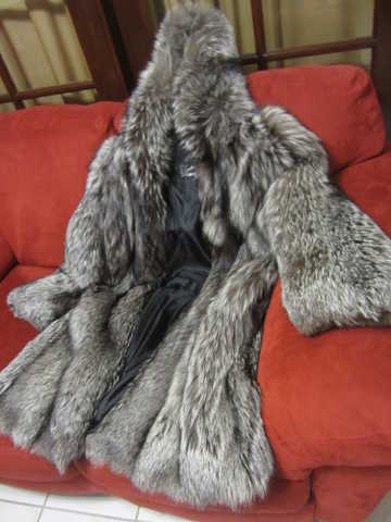 Silver Fox Fur Cout