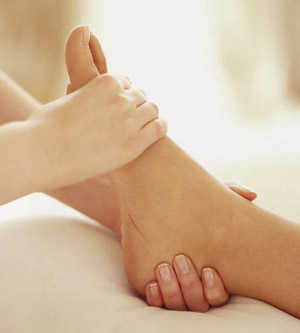 Scrub And Massage For Feet