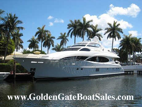 2004, 106' Lazzara Motor Yacht Raised Pilot House For Sale