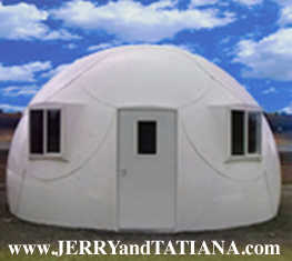 Extremely Affordable Hurricane Dome Homes