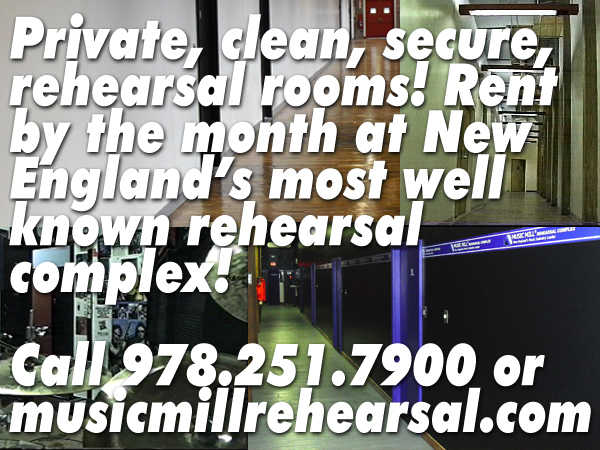 Rehearsal Space Studios Practice Rooms Ma Nh Boston