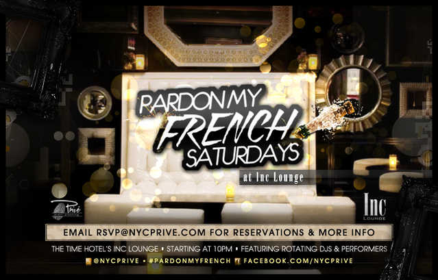 Free Entry At Inc Lounge & Club In The Time Hotel Saturdays