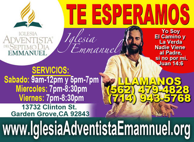 Iglesia Adventista En Orange Tustin Irvine Laguna Hills Orange