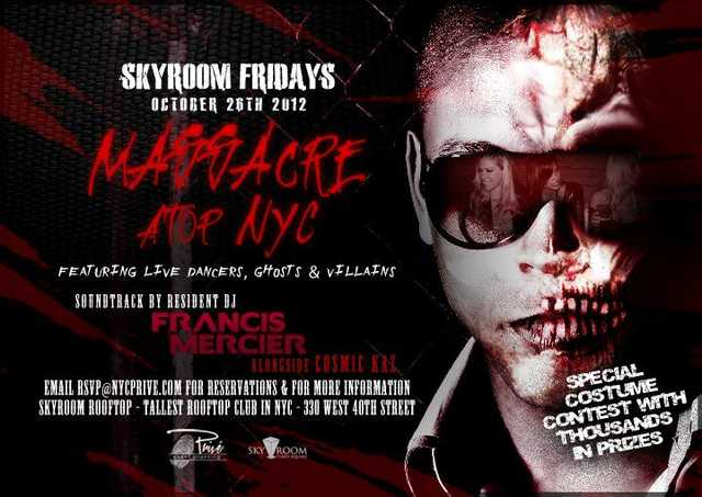 Friday Skyroom Halloween
