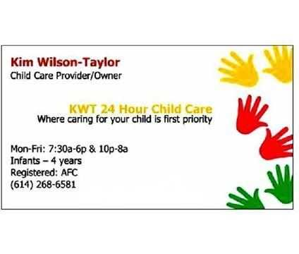 Infant Child Care - Columbus, Ohio - Kwt24 Hour Child Care
