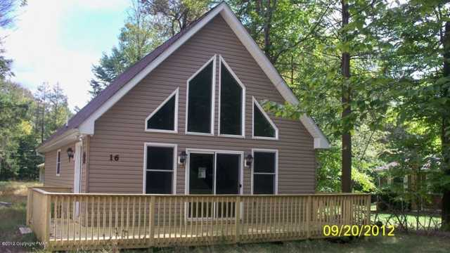 Bank Repo! Getaway Or Starter Home! Holiday Pocono Chalet Mls# 12