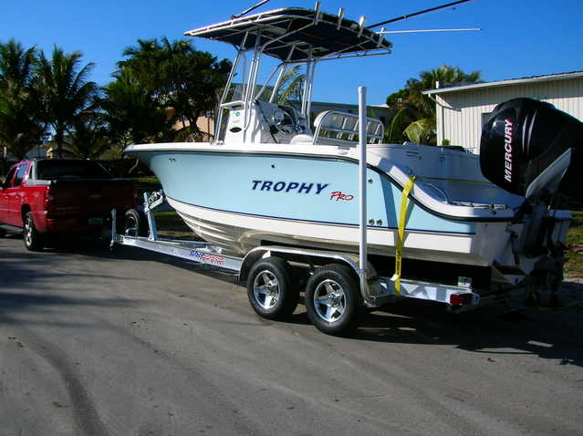 New Custom Aluminum Boat Trailers From 15' To 50'