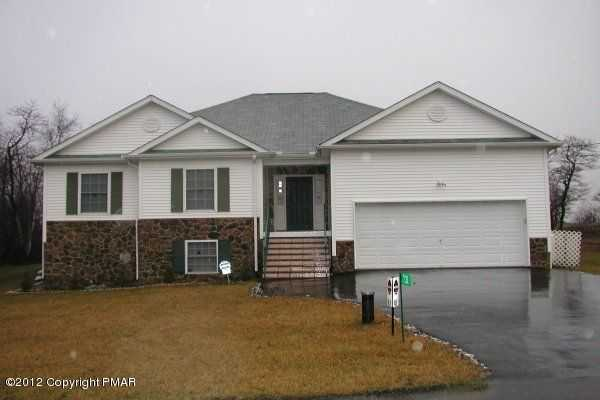 2005 Built Poconos Spacious 4br 3.5ba Ranch Rental Mls#12 - 10481