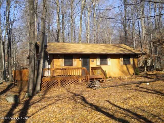 Big Bass Lake Poconos Vacation Remodeled 3br Ranch! Mls#12 - 9791