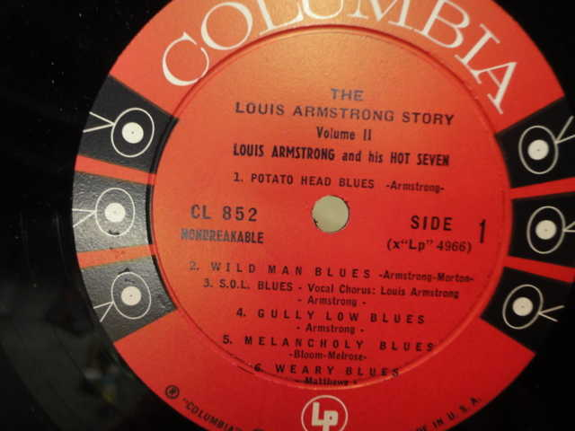 Louis Armstrong Signed Album For Sale