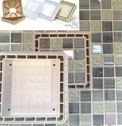 Tile Drain Insert 5 Inch - The Most Easy To Tile Square Shower Dr