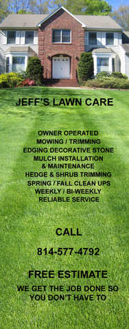 Free Mow For New Lawn Care Customers