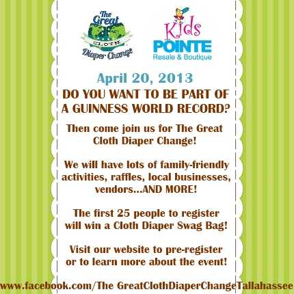 The Great Cloth Diaper Change Event And Free Activities