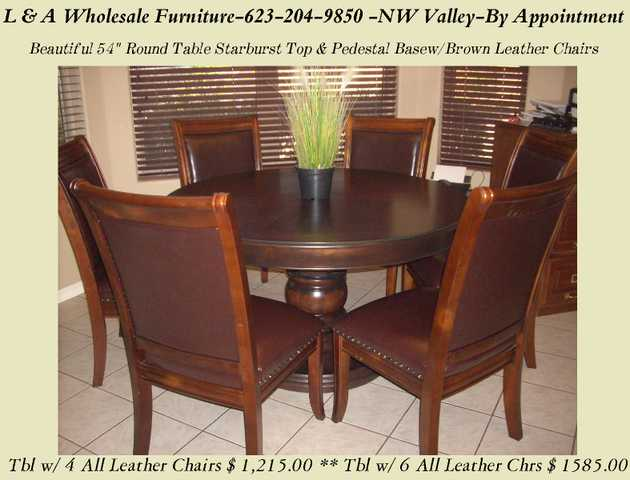 Round Dining Room Table With Pedestal Base