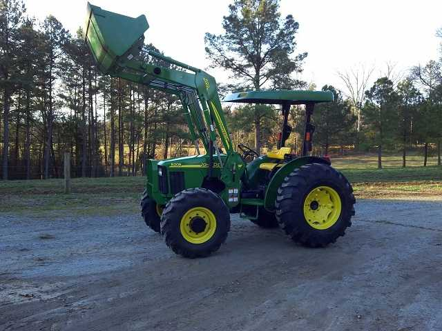 2005 John Deere 5205 4x4 With 522 Loader