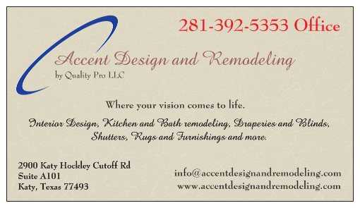 Design And Remodeling Houston And Katy