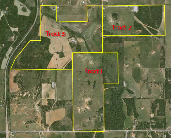 Oklahoma Land Auction – Buy All Or Part
