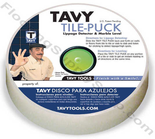 Tavy Tile Puck Marble Level And Lippage Detector