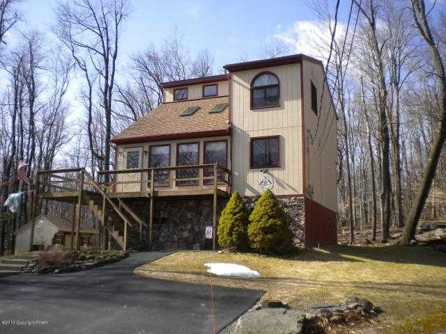 Pocono Springs Estates 3 Level Contemp W / Master Suite Mls#pm - 318
