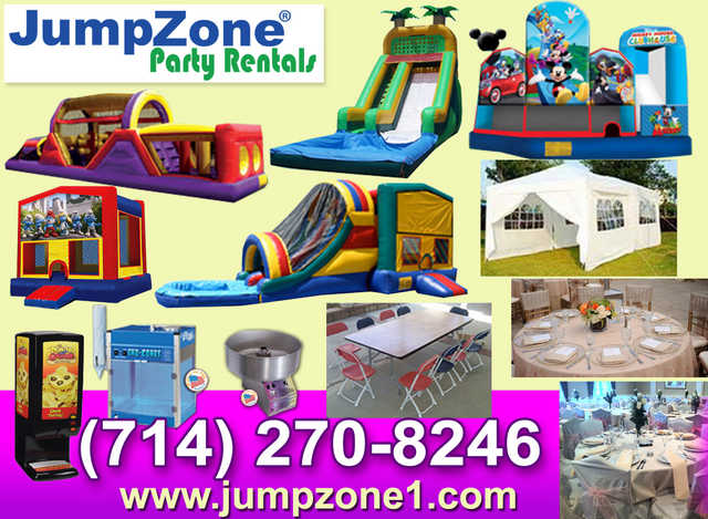 Party Rentals In Anaheim Tables Chairs Jumpers For Rent Anaheim