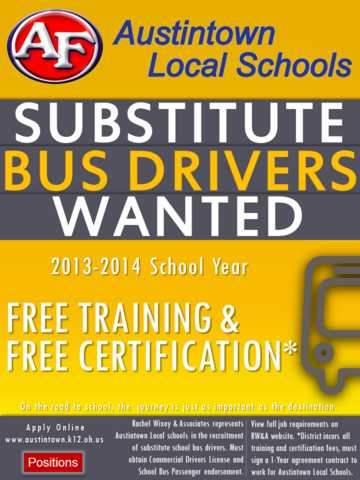 Bus Driver, Austintown Local Schools