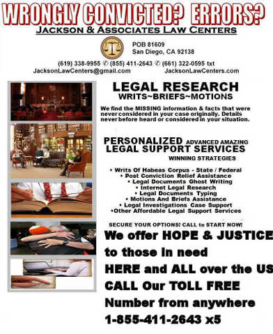 Inmates Legal Support